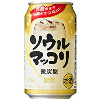 サントリー ソウルマッコリ 350ml 缶 (1...の商品画像