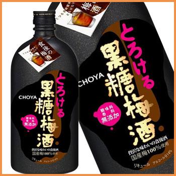 チョーヤ とろける黒糖梅酒 720mlの商品画像