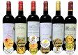 2セット セレクション 金賞受賞酒 フランスボルドーワイン 赤ワイン6本セット 750ml×12本