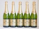 ショッピングフランス フランススパークリング白ワイン6本セット デュック ド パリ ドミセック(やや甘口) 750ml×6本