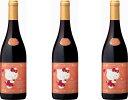 3本セットハローキティー ボージョレ・ヴィラージュ・ヌーヴォー赤ワイン×3本 750ml(ボジョレヌーボ)盛田甲州ワイナリー