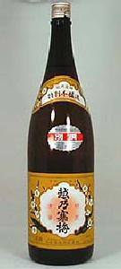 石本酒造 別撰 越の寒梅 特別本醸造 1800ml(日本酒)