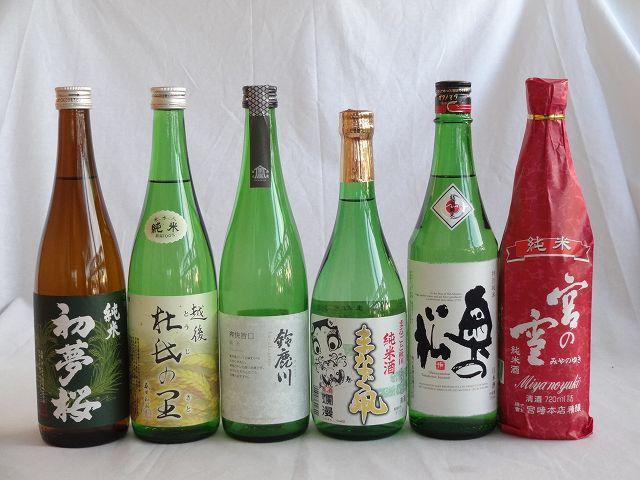 金賞受賞蔵定番飲み比べ日本酒6本セット720ml×6本