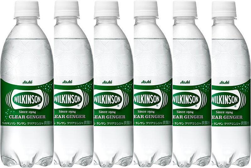 アサヒ飲料 ウィルキンソン タンサン クリアジンジャー炭酸水 WILKINSON 無糖0cal 500ml×45本
