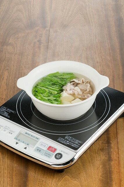 3セット IH対応陶器 陶製ラーメン鉢 白×3セットの紹介画像3