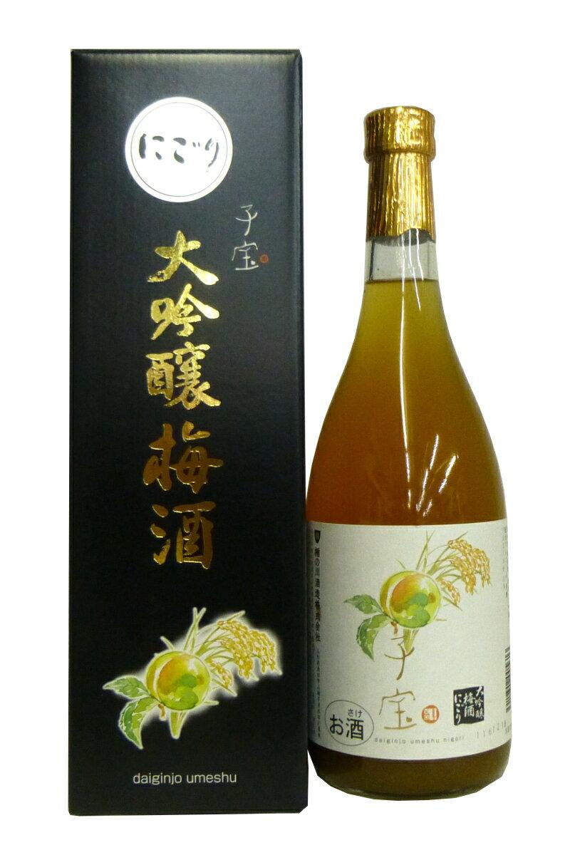 子宝大吟醸梅酒にごり 11°720mlの商品画像