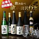 【送料無料】飲み比べ欲ばり贅沢6本セット