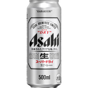 アサヒ スーパードライ 500ml×24缶(1ケース)