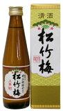 〔清酒・日本酒〕60本まで同梱可☆上撰 松竹梅 300ml瓶 【箱付き】【RCP】