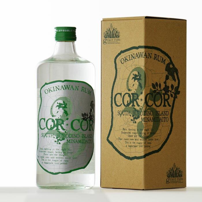 国産ラム酒グレイスラムコルコルアグリコール(緑ラベル)25度720ml箱付きRCP