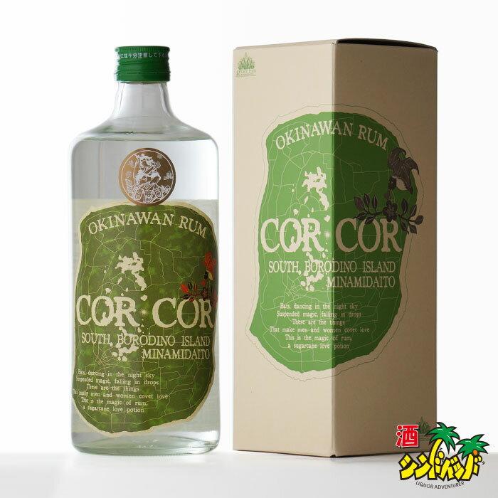 国産ラム酒グレイスラムコルコルアグリコール(緑ラベル)40度720ml箱付きRCP