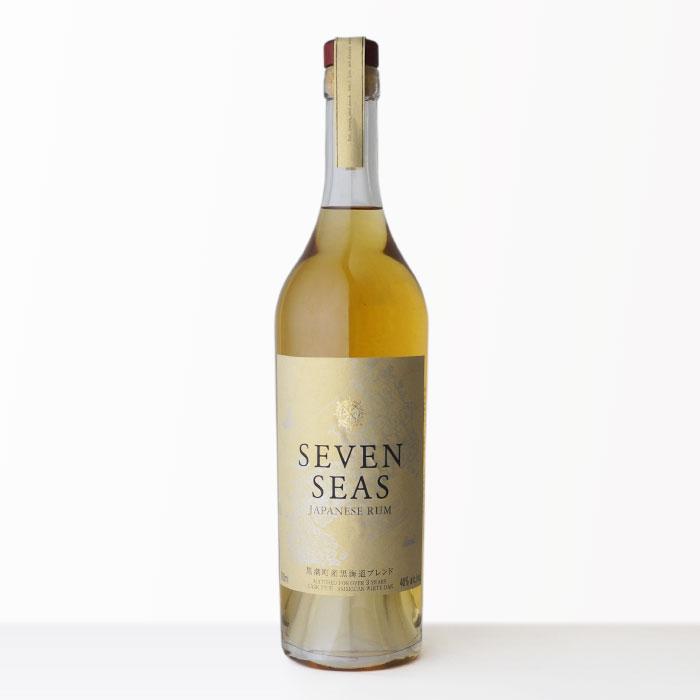 国産ラム酒セブンシーズゴールド菊水酒造40度700mlRCP