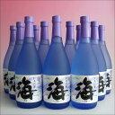 《送料無料(本州 九州 四国) 包装不可》海(うみ umi) 720mlx12本・大海酒造 芋焼酎