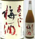 12度 梅乃宿 あらごし梅酒 1800ml瓶 デザート梅酒(清酒ベース)濃醇甘口 梅乃宿酒造 奈良県 化粧箱なし