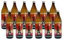 日本酒, 燒酒 - 赤利右衛門 芋焼酎 25度 900ml×12本セット【送料無料(北海道・東北・沖縄以外)】