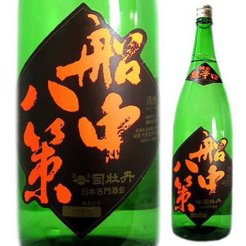 司牡丹 純米超辛口 船中八策 1800ml 純米酒 高知県