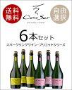 【送料無料】【選べる】 コノスル スパークリングワイン シリーズ 6本セット ※但し九州は500円、沖縄は800円送料がかかります。
