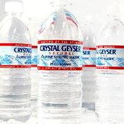 【3〜4営業日以内に出荷】クリスタルガイザー[CRYSTAL GEYSER] 500ml×24本 天然水[水・ミネラルウォーター]ナチュラルウォーター[税別]