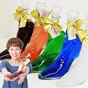 【名入れ彫刻ボトル】シンデレラのガラスの靴をイメージしたお酒...