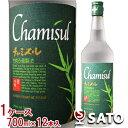 チャミスル 韓国焼酎 22度 700ml 1ケース(12本入)