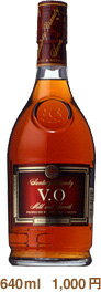640 ml of Suntory brandy VO 37 degrees