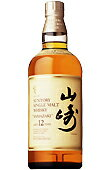 700 ml a year of Suntory single malt whiskey 12, Yamasaki
