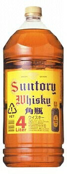 *4 Suntory whiskey corner pot 4L pet