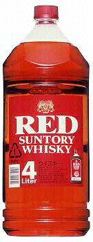 Suntory whiskey red 4 L pets x 4 books