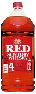 *4 Suntory whiskey red 4L pet