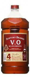 *4 Suntory brandy VO 37 degrees 4L pet