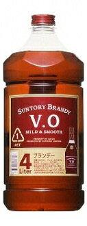 *4 Suntory brandy VO 37 degrees 4L pet