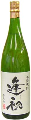1,800 ml of 逸品逢初 25 degrees of the potato shochu which is proud of deep-rooted popularity to the person of the weak point