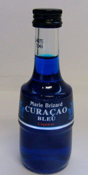 50 ml of Malibu lib roux curacao miniatures