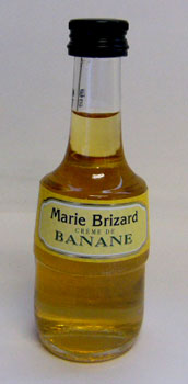 50 ml of Malian yellowtail banana liqueur miniatures