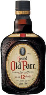 750 ml of article 40 degrees regular for Old Parr 12 years