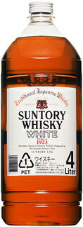 Suntory whiskey white 4 L pets x 4 books