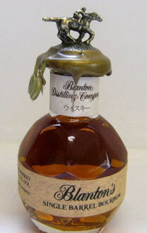 50 ml of Blanton single-barrel bourbon miniature 46.5 degrees