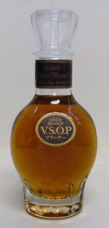 50 ml of Nikka brandy VSOP miniature 40 degrees