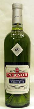 700 ml of pernod absinthe 68 degrees