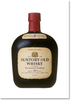 700 ml of Suntory whiskey old 43 degrees