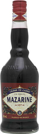 Mazarin claims de Cassis de Dijon 20 degrees extract: 61.3% 700 ml