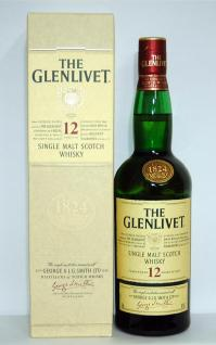 A constant seller of the single malt. 700 ml of regular article Glenn rivet 12 years 40 degrees treasuring