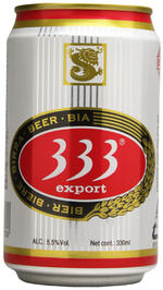 Viet Nam beer 333 333 330 ml x 24