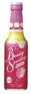 "Takara """"BeautySparkling""< puru Rin lychee > 250 ML bottle x 12"