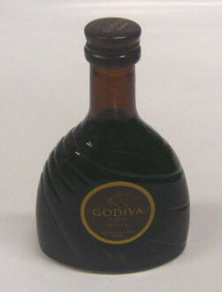 50 ml of Godiva chocolate liqueur miniatures