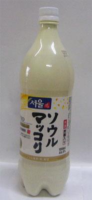 発売元サントリー 微炭酸 ソウルマッコリ 1Lペットボトル