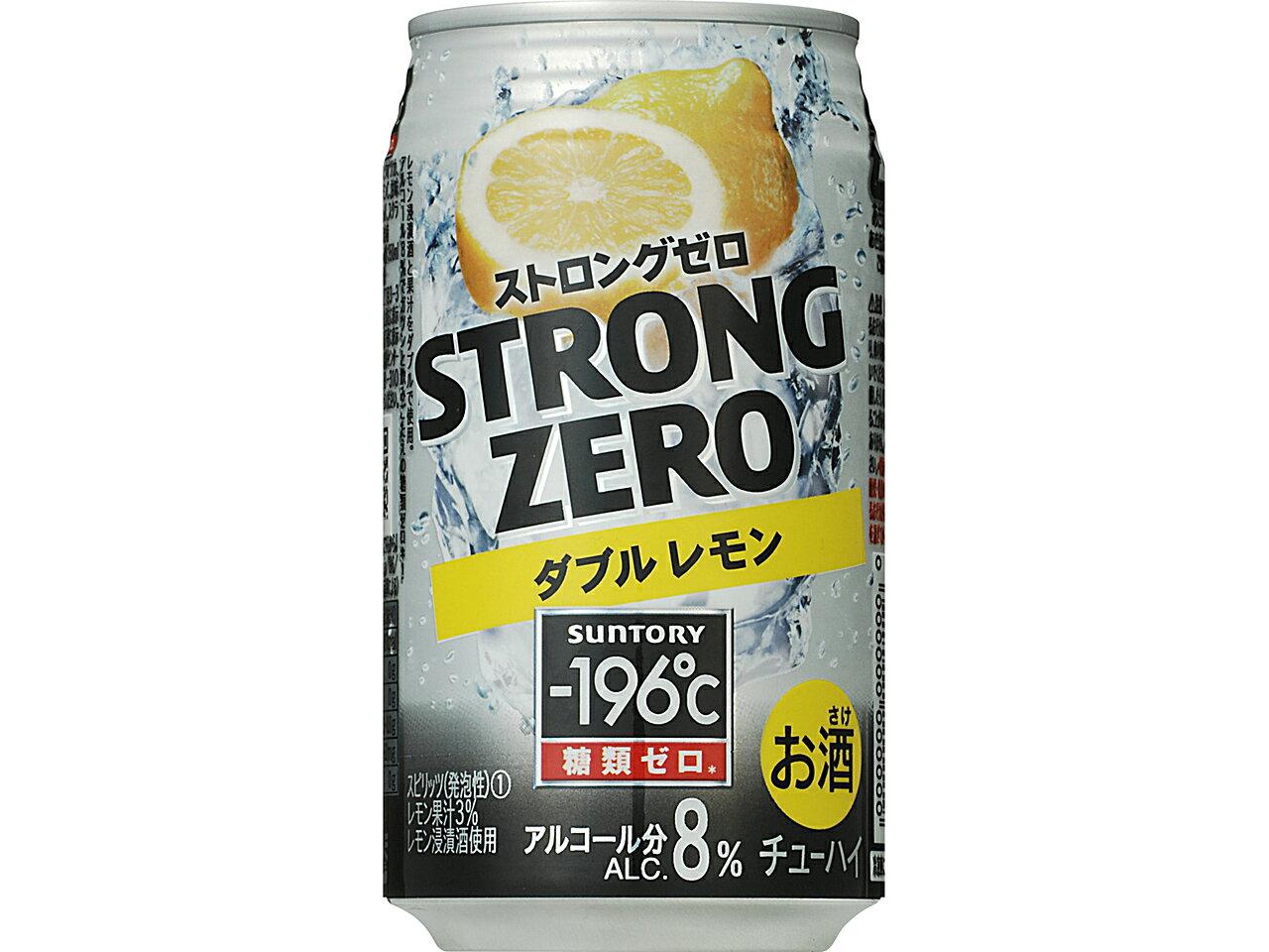 -196 ° C strong zero < double lemon > 350ML×24 book