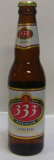 Viet Nam beer 333 barberbarbiel bottle 330ml×24 book