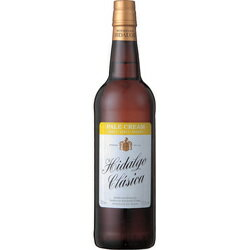 750 ml of sherry Peer cream Hidalgo