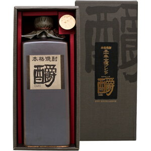 Luxury cosmetics boxed rice shochu aged blend would be excellence 35 degree dew of 720 ml
